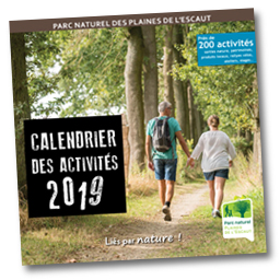 Calendrier des activités 2018